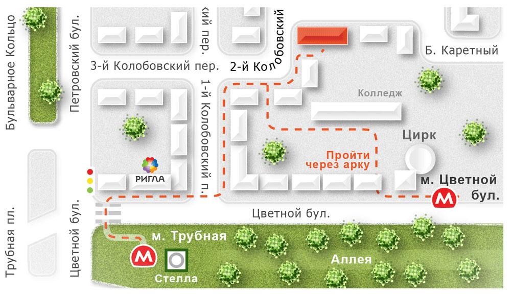 Как сделать карту схему проезда