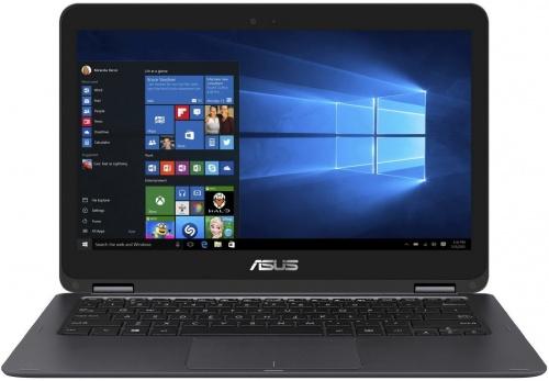 Asus Zenbook Flip UX360CA-C4112TS (90NB0BA2-M03510), grey - (Intel Core m5 6Y54 / 1.10 - 2.70 ГГц. Экран 13.3 дюймов, 1920x1080, широкоформатный, сенсорный, мультитач. ОЗУ 8 ГБ. Накопители SSD 256 Гб; DVD нет. GPU Intel HD Graphics (интегрированный). ОС Win 10 Home)