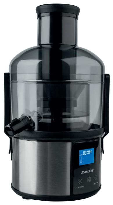 Соковыжималка Scarlett SC-JE50S31, black, 1500 Вт, щеточка для чистки