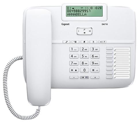 Проводной телефон Gigaset DA710, White S30350-S213-S302