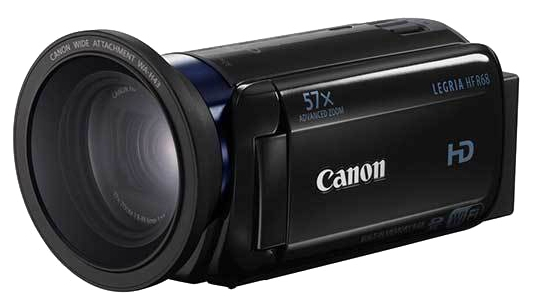 Видеокамера Canon Legria HF R68, black 0279C002