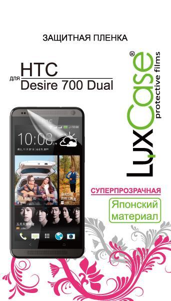 �������� ������ LuxCase ��� HTC Desire 700 Dual (80376) Super Clear