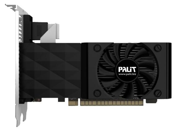 Видеокарта Palit GeForce GT 730 700Mhz PCI-E 2.0 4096Mb 128 bit DVI HDMI HDCP (NEAT7300HDG1-1085F)