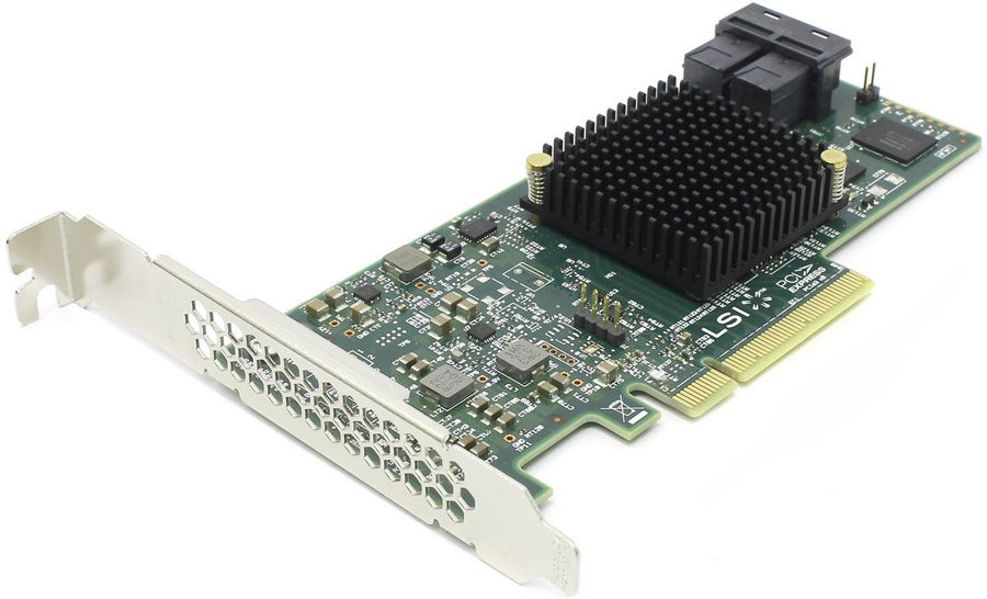 Контроллер LSI Logic SAS 9300-8i (LSI00344)