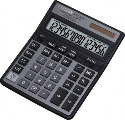 Калькулятор Citizen SDC-760N, Black SDC760N