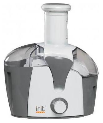Соковыжималка Irit IR-5603, белая с серым, 300 Вт