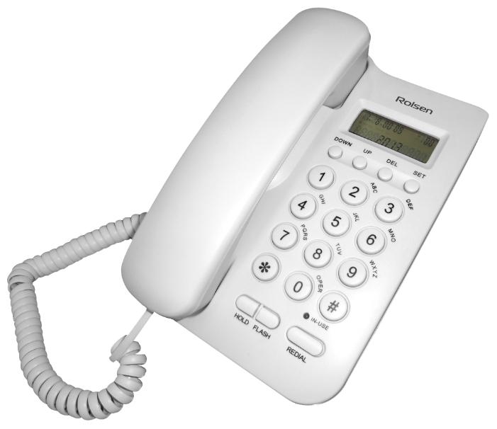 Rolsen RCT-300, white - (дисплей есть, нет номеров, ,)
