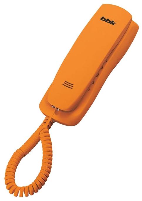 Проводной телефон BBK BKT-105 RU, Orange BKT-105 RU оранжевый