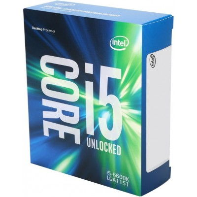 ��������� Intel Core i5-6600 Skylake (3300MHz, LGA1151, L3 6144Kb), BOX BX80662I56600