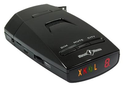StreetStorm STR-5210EX - , режим Город: есть, количество уровней - 4, режим Трасса: есть, отображение информации: светодиодный дисплей
