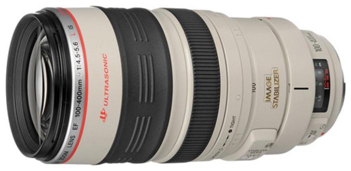 Canon EF 100-400mm f/4.5-5.6L IS USM - телеобъектив Zoom; ФР 100 - 400 мм; ZOOM 4x • F4.5 - F5.6 • Автофокус есть. Макрорежим есть