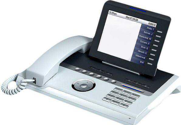 VoIP-телефон Siemens OpenStage 60, Ice-blue, USB, WAN, LAN, есть определитель номера L30250-F600-C109