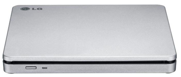 Внешний оптический привод LG GP70NS50 Silver