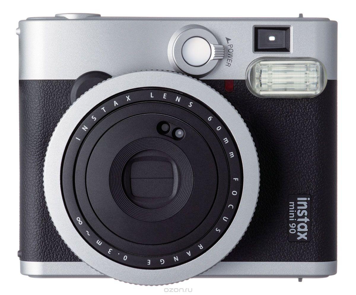 Фотоаппарат моментальной печати Fujifilm Instax Mini 90 Neo Classic, Black Instax Mini 90 Black