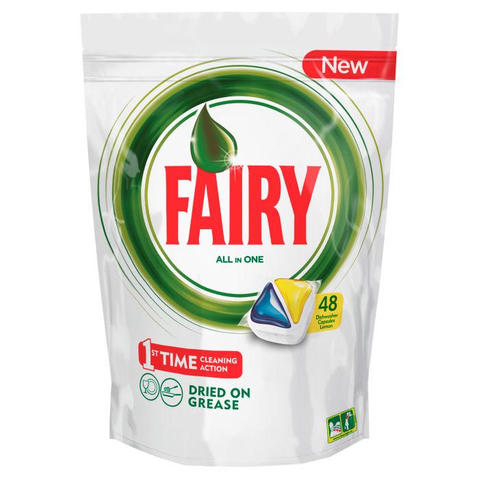Средство для мытья посуды Fairy Original All In One, Лимон, 48 шт FR-81574815