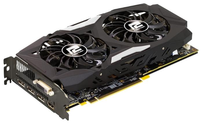 Видеокарта PowerColor Radeon RX 480 4096Mb Red Dragon AXRX 480 4GBD5-3DHD