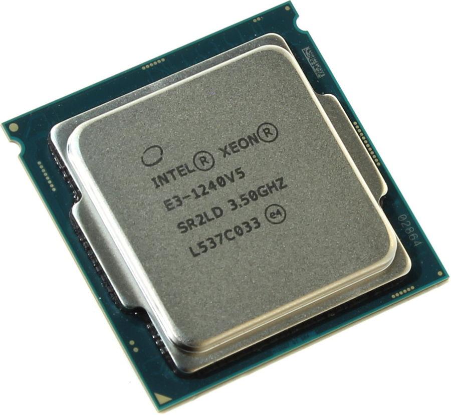 Процессор Intel Xeon E3-1240 V5 Skylake-S (3500MHz, LGA1151, L3 8192Kb), OEM CM8066201921715