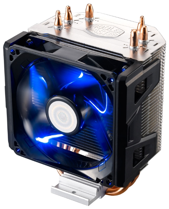 Cooler Master Hyper 103 - для процессора; сокеты S775, S1150/1155/S1156, S1356/S1366, S2011, AM2, AM2+, AM3/AM3+/FM1, FM2/FM2+; вентиляторов