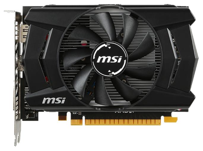 Видеокарта MSI Radeon R7 360 1100Mhz PCI-E 3.0 2048Mb 6500Mhz 128 bit DVI HDMI HDCP (R7 360 2GD5 OC)