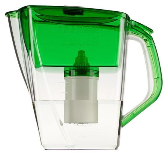 Фильтр для очистки воды Барьер-Гранд, green