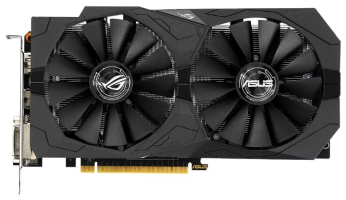 Видеокарта ASUS GeForce GTX 1050 1442Mhz PCI-E 3.0 2048Mb 7008Mhz 128 bit 2xDVI HDMI HDCP Strix OC Gaming STRIX-GTX1050-O2G-GAMING