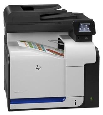 HP LaserJet Pro 500 color MFP M570dw - ((принтер/сканер/копир/факс); A4; цветная; печать 30 стр/мин (ч/б А4), 30 стр/мин (цветн. А4); двухсторонняя печать есть • Печать на: карточках, пленках, этикетках, глянцевой бумаге, конвертах, матовой бумаге)