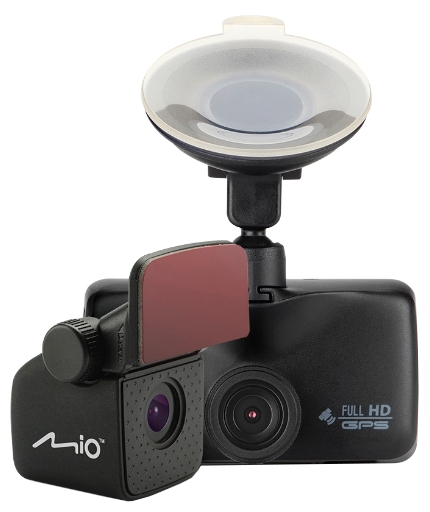 """Mio MiVue 698 - (с камерой, с экраном; 1920x1080 при 30 к/с; каналов в/а - 2/1; 1/2.7"""" 2 млн пикс.; 140° (по диагонали); ночной режим есть; microSD (microSDHC) до 128 Гб; Экран 2.7""""; GPS-модуль есть)"""