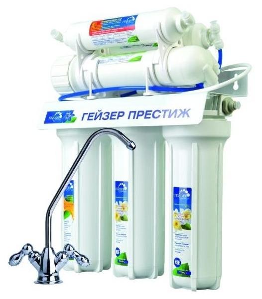 Фильтр для очистки воды Гейзер Престиж М Престиж М белый