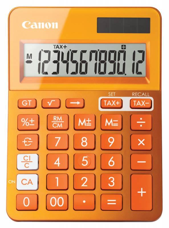Калькулятор Canon LS-123K, Orange LS-123K-MOR