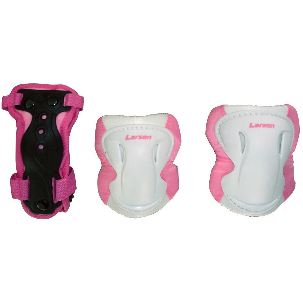 Защита роликовая Larsen Pink (P8P) S