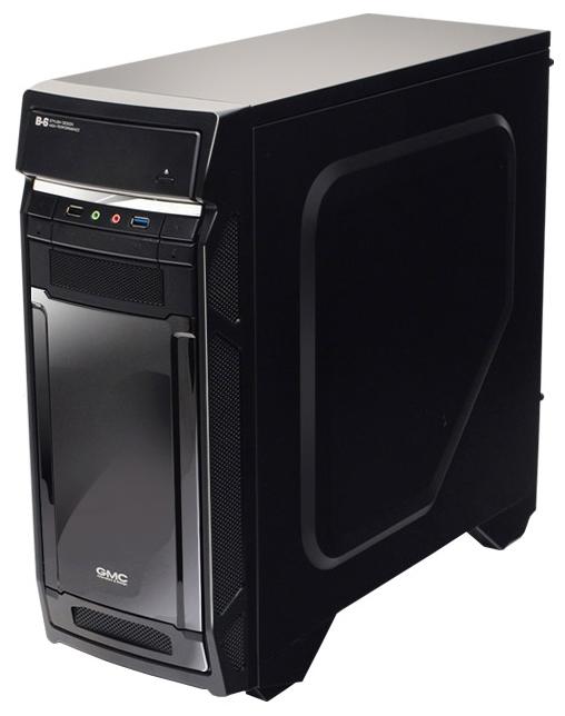 Корпус для компьютера GMC B-6 Shiny w/o PSU Black 267524