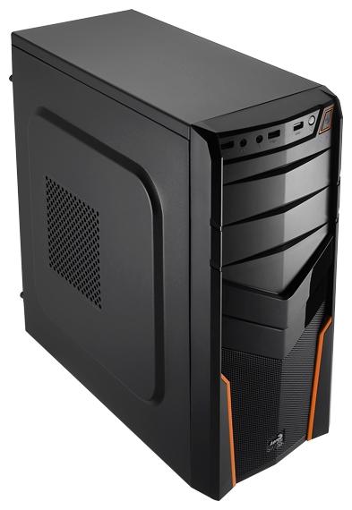 Корпус для компьютера AeroCool V2X Orange Edition 600W, Orange