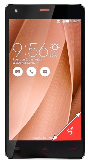 Ginzzu S5020 Black - (; GSM 900/1800/1900, 3G, 4G LTE; SIM-карт 2; 1000 МГц; RAM 1 Гб; ROM 8 Гб; 2150 мАч; 8 млн пикс., светодиодная вспышка; есть, 5 млн пикс.)