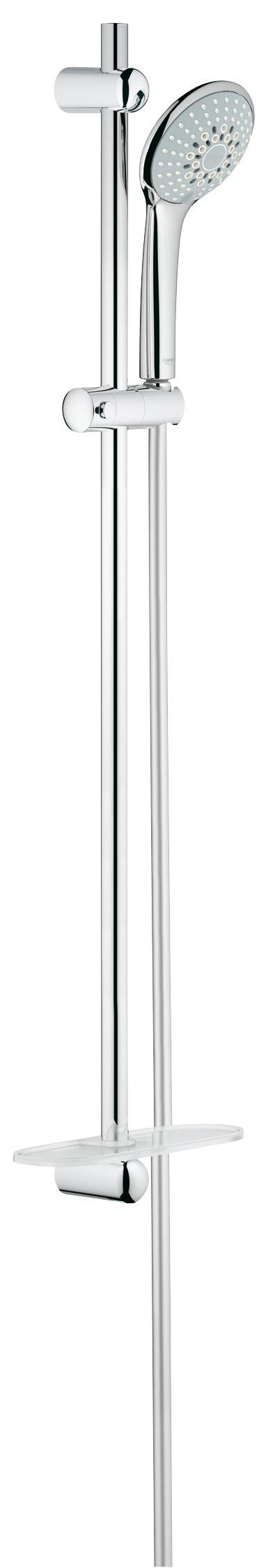 Grohe 27227001 Euphoria (ручной душ, штанга 900 мм, шланг 1750 мм), хром (27227001)