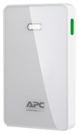 �������������� ������� APC Mobile Power Pack, 5000mAh Li-polymer, White M5WH-EC