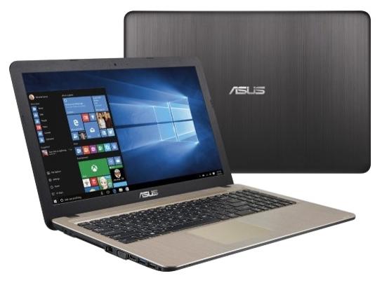 ASUS VivoBook X540YA-XO047D (90NB0CN1-M00660) - (AMD E1 7010 1500 МГц. Экран 15.6 дюймов, 1366x768, широкоформатный. ОЗУ 2 Гб DDR3L 1600 МГц. Накопители HDD 500 Гб; DVD нет. GPU AMD Radeon R2. ОС DOS)