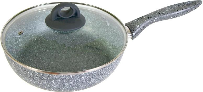 Сотейник Scovo Stone Pan ST-022, grey