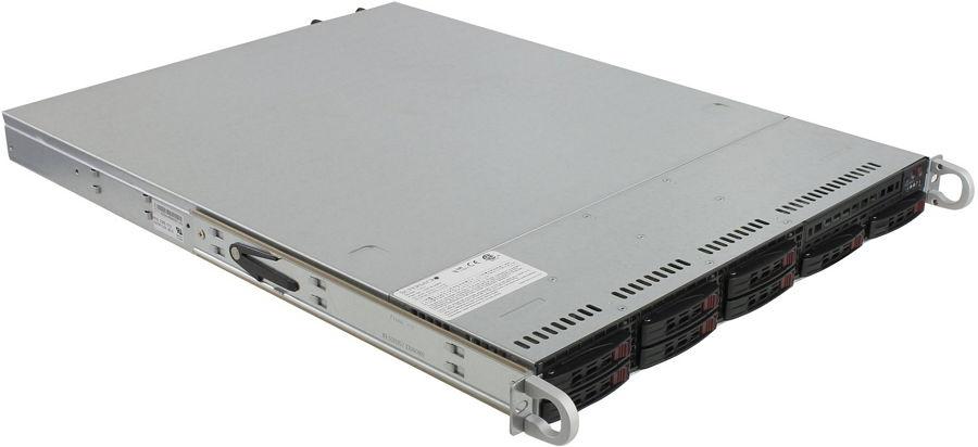 Сервер SuperMicro 1027R-WRF (1U, 2xCPU, 8xHDD) SYS-1027R-WRF