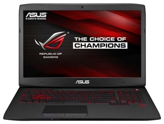ASUS ROG G751JL-T7074T Black - (Core i7 4750HQ 2000 МГц. Экран 17.3 дюймов, 1920x1080, широкоформатный TFT IPS. ОЗУ 16 Гб DDR3L 1600 МГц. Накопители HDD+SSD 2128 Гб; DVD-RW, внутренний. GPU NVIDIA GeForce GTX 965M. ОС)
