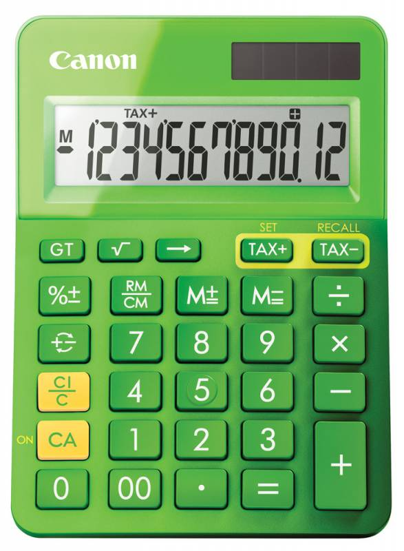 Калькулятор Canon LS-123K, Green LS-123K-MGR