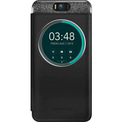 Asus для Asus ZenFone Selfie ZD551KL MyView Cover Delux black - (для Samsung Galaxy S6 S View Cover (Textil) ; пластик, резинка)