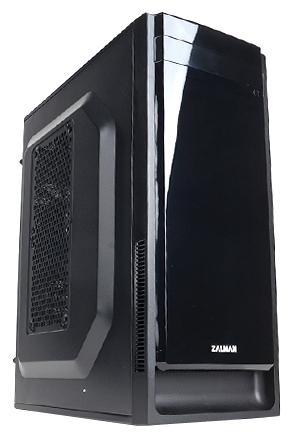 Zalman ZM-T2 Plus Black - (черный, mATX, Mini-ITX, Mini-Tower, БП нет, 1 внутр. 5.25'', 2 внутр. 3.5'', USB x2, включая один USB 3.0, наушники, микрофон)