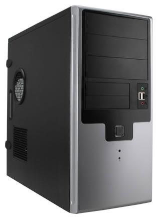Корпус для компьютера IN WIN EAR009 450W Black/silver EAR009BS