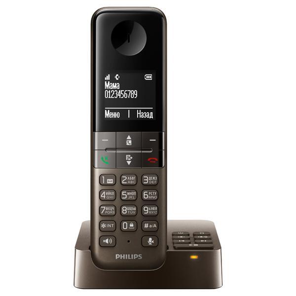 Радиотелефон DECT Philips D4551B/51 Brown D4551MB/51