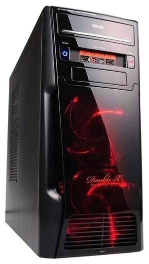 Корпус для компьютера GMC Double-X w/o PSU Black 267526