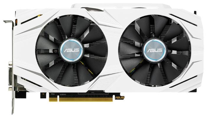 ASUS GeForce GTX 1060 3072Mb - (NVIDIA GeForce GTX 1060, 16 нм, 1506 МГц, 3072 Мб GDDR5@8008 МГц 192 бит, TDP 120 Вт • Разъёмы: DVI-D, поддержка HDCP, HDMI x2, DisplayPort x2.)