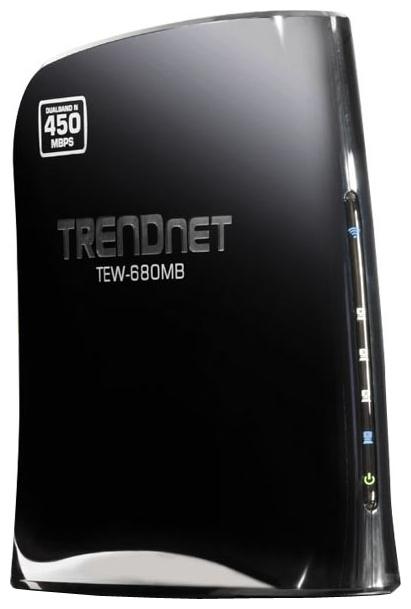 Wi-Fi маршрутизатор TRENDnet TEW-680MB, 802.11n, частота 2.4 / 5 ГГц