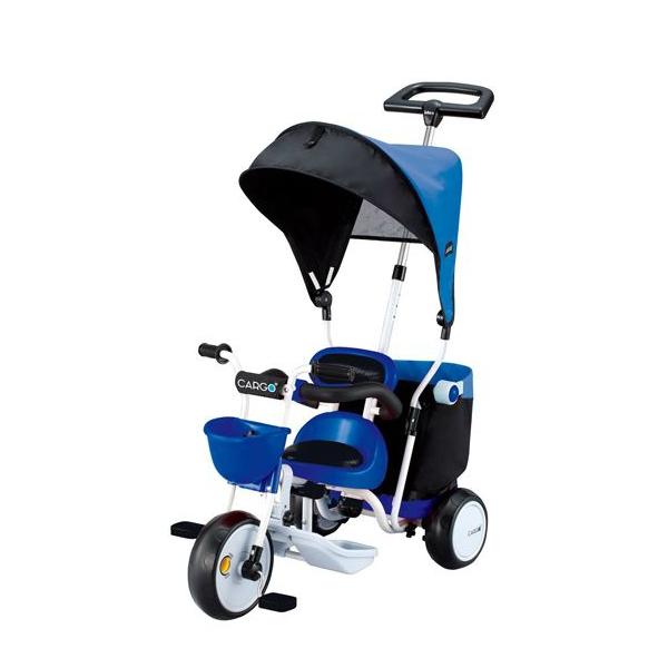 Велосипед трехколесный IDES Cargo Plus Синий