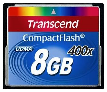 Transcend CF 8Gb 400x (TS8GCF400)