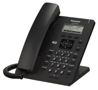 VoIP-телефон Panasonic KX-HDV100RUB, LAN, 1 линии, есть определитель номера
